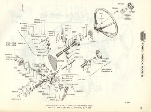 1990 Ford f250 steering column diagram