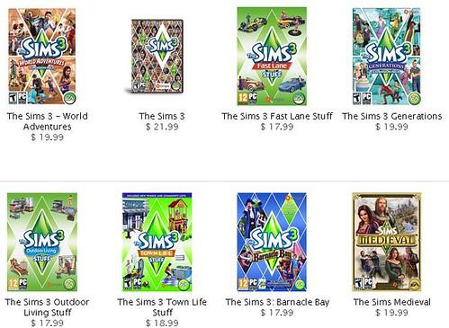 Get The Sims 3 Games Cheap via GameFanShop!