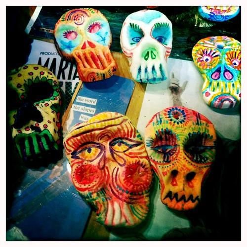Painting Skulls