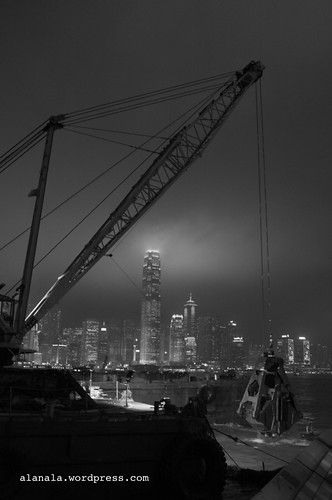 eye to the IFC from the Underground construction @ the symphony of star