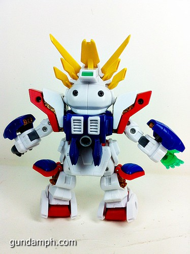SD Archive Shining Gundam Unboxing Review (27)