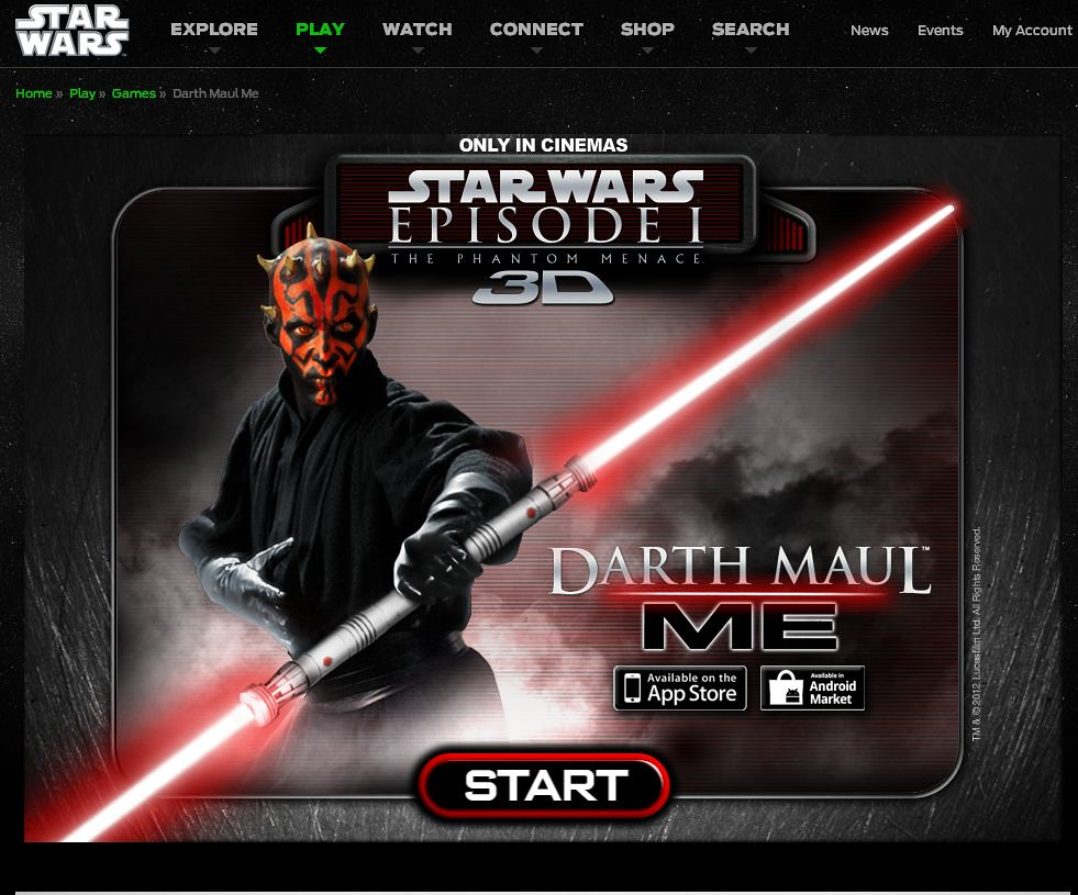 Darth Maul Me