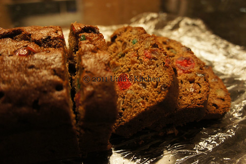 Boiled Christmas Fruit Cake