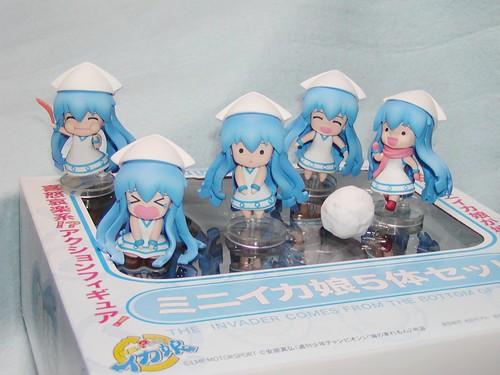 Nendoroid Petit: Mini-Ika Musume set