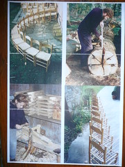 David Drew and family making oak chairs