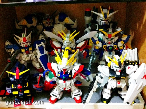 SD Archive Shining Gundam Unboxing Review (1)