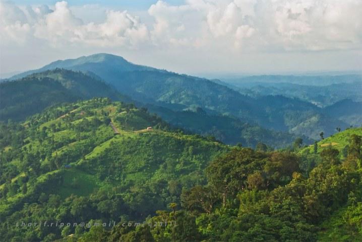 Bandarban Chimbuk Range Hill View From Nilgiri