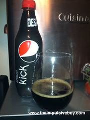 Pepsi Kick Closeup