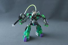6862 Superman vs Power Armor Lex 7