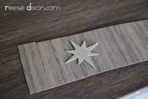 Wood Veneer Creche Ornament Tutorial Step 3