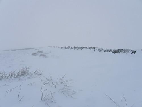 Snowdrift on Hard Rigg