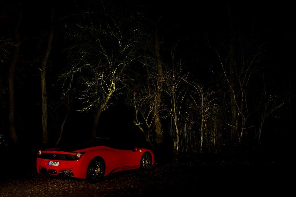 Ferrari 458 Italia - the experimental stage