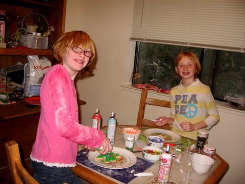 Christmas cookie baking1b