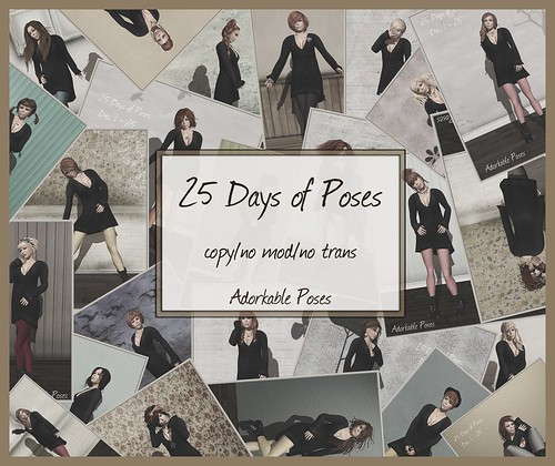 aDORKable Poses: 25 Days of Poses