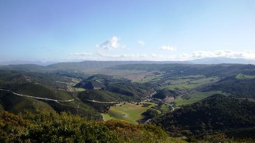 Sierra de Cádiz desde el Cerro de la Cruz