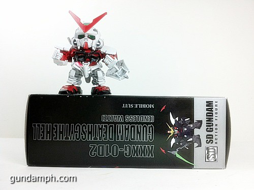 SD Gundam Online Deathscythe Hell Custom Toy Figure Unboxing Review (4)