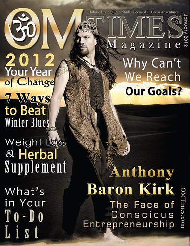 OM Times Magazine : January 1/2 2012 : Anthony Baron Kirk by deZengo