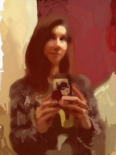 Self Portrait With IPhone