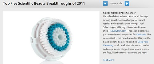 You Beauty - Top Five Scientific Beauty Breakthroughs of 2011