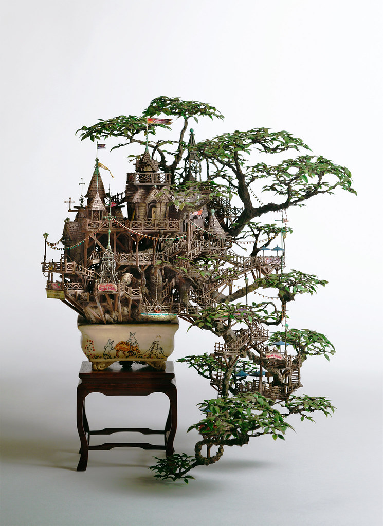 6844475327 69b59cce01 b A Bonsai Version of the Baggins Hobbit Home