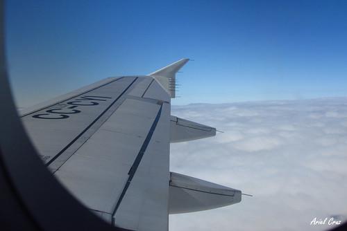 Desde el avión | From the aircraft