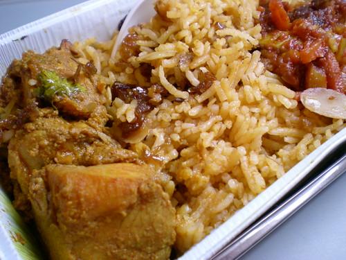 Air Asia nasi bryani