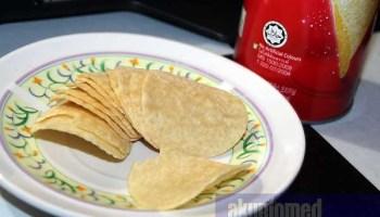 Snek Pringels yang dibeli dari Tesco