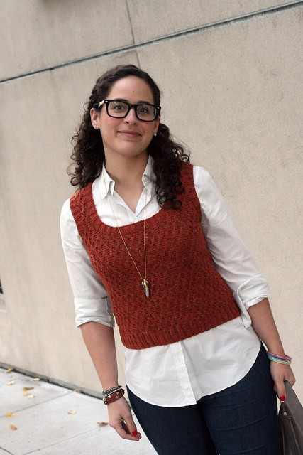 Knit Style: Honeycomb Vest