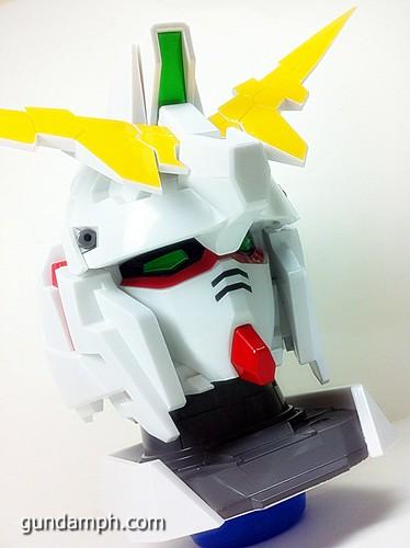 Banpresto Gundam Unicorn Head Display  Unboxing  Review (26)