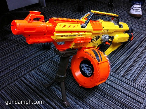 NERF Sale 50% Off Stampede Raider Recon Unboxing Review (72)