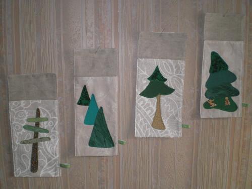 Cadeaux de Noël - Sacs porte-couverts