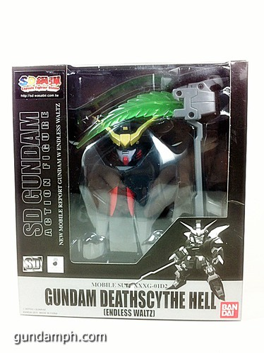 SD Gundam Online Deathscythe Hell Custom Toy Figure Unboxing Review (1)