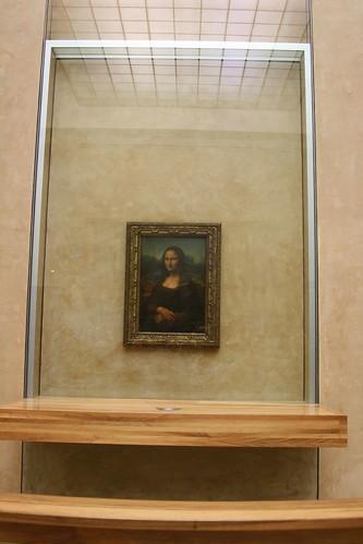 Mona Lis, The Louvre