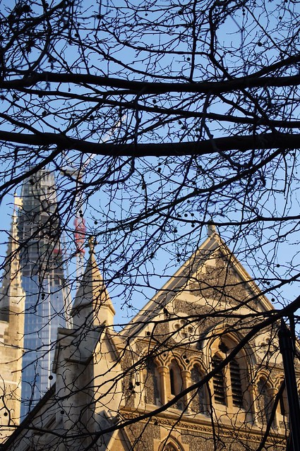 Southwark Cathedral & The Shard