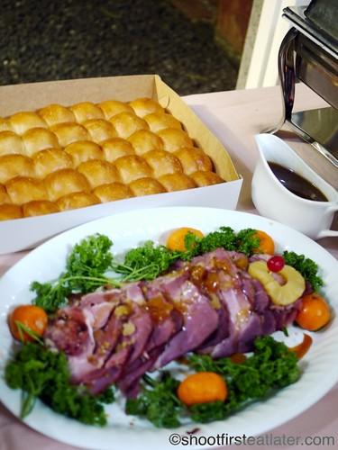 CNY 2012- baked ham-3