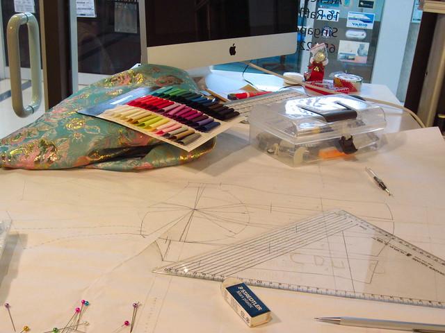 creating a work scene