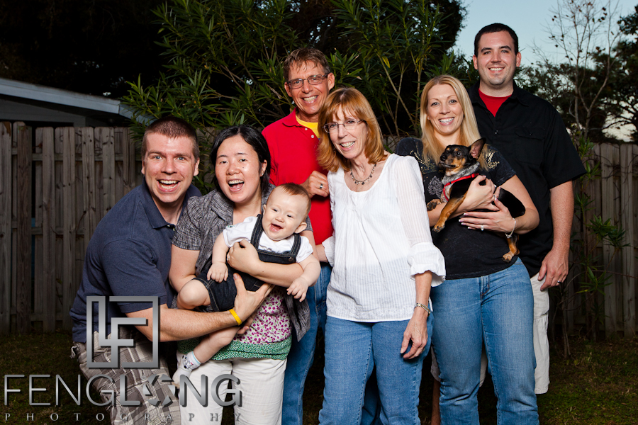 Thanksgiving 2011 | Family Portrait in St. Petersburg, FL