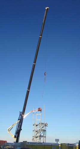 Redcar Vertical Pier Construction