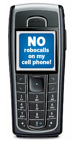 Cell Phone Robocalls?