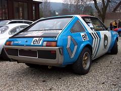 Renault 17 Gordini - Montecarlo 1975
