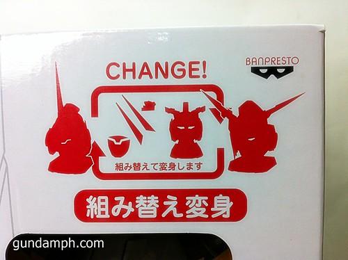 Banpresto Gundam Unicorn Head Display  Unboxing  Review (6)