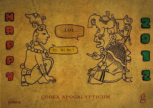 CODEX APOCALYPTICUM (Illustration : Gilderic)