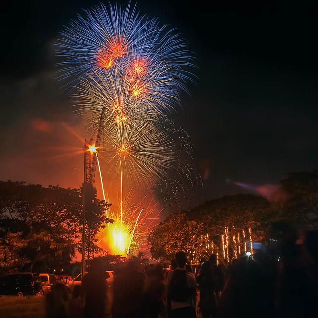 Sinulog 2012 Fireworks in CBP