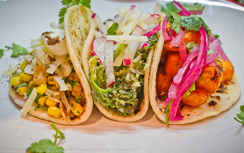 Dinner at the Manor Vegetarian Tacos