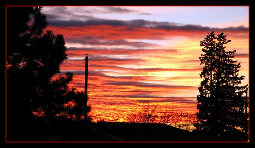 Sunset in Santa Fe- 2012