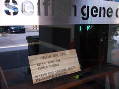 Selfish Gene Cafe, 40 Craig Road