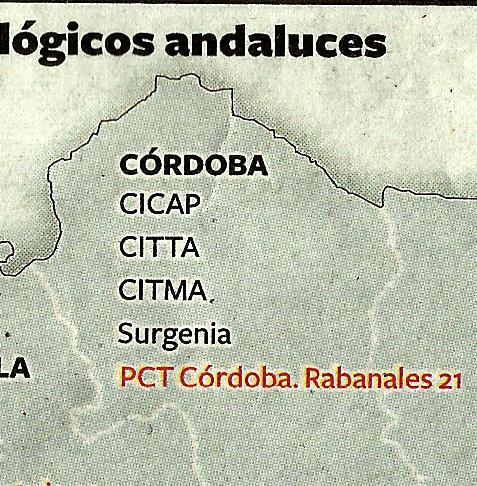 Centros y Parques Tecnológicos de Córdoba.