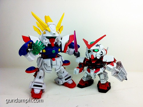 SD Archive Shining Gundam Unboxing Review (42)