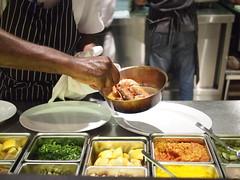 Gambas prawns being cooked, Esquina Tapas Bar, Jiak Chuan Road, Keong Saik, Tanjong Pagar