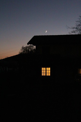 La finestra illuminata by Art Gamila